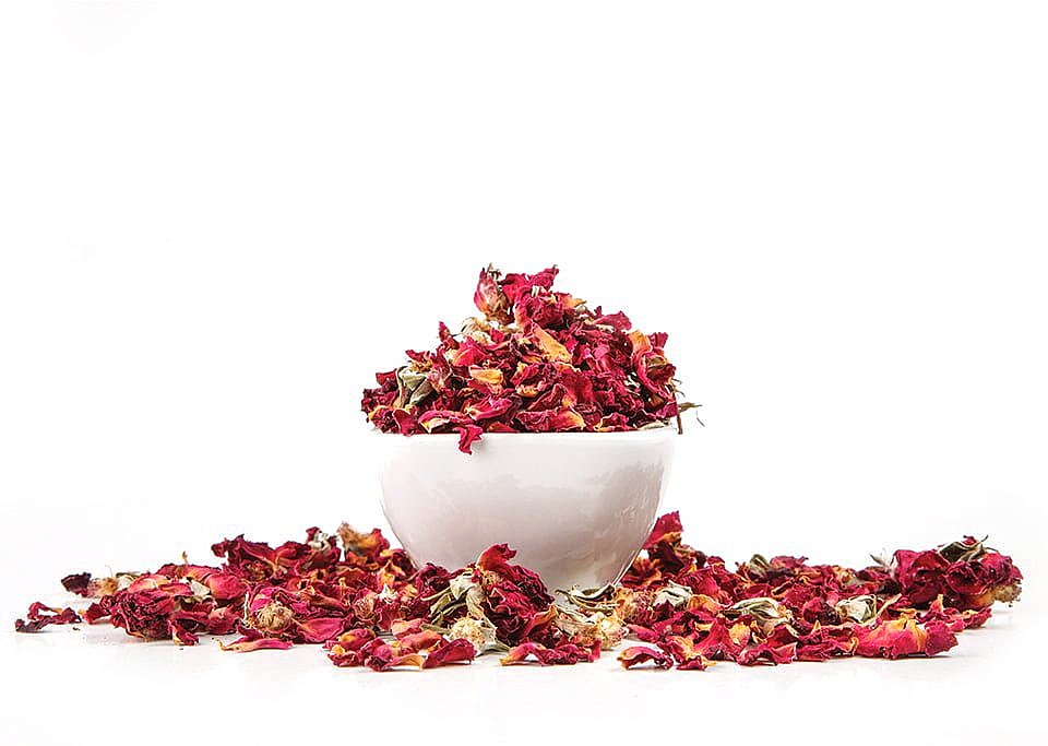 Dry Rose Flowers